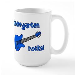 Kindergarten Rocks! (with Gui Large Mug