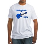 Kindergarten Rocks! (with Gui Fitted T-Shirt