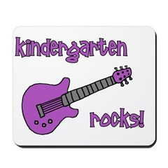Kindergarten Rocks! (with Gui Mousepad