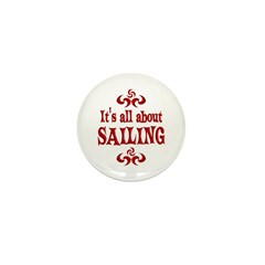 Sailing Mini Button