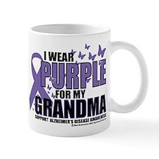Alzheimers Purple For My Gran Mug