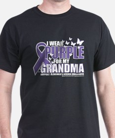 Alzheimers Purple For My Gran T-Shirt