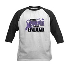 Alzheimers Purple For My Fath Tee