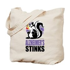 Alzheimers Stinks Tote Bag