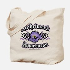 Alzheimers Tribal Violet Tote Bag
