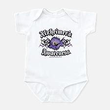 Alzheimers Tribal Violet Infant Bodysuit