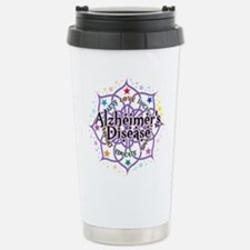 Alzheimers Lotus Stainless Steel Travel Mug