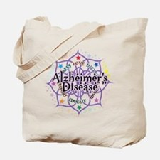 Alzheimers Lotus Tote Bag