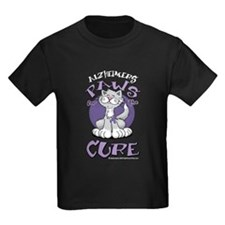 Alzheimers Paws For Cure T