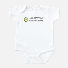 1st Squadron 13th Cavalry Infant Bodysuit