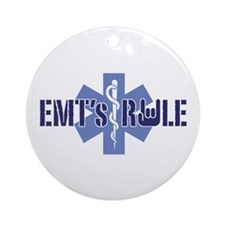 EMT's Rule Ornament (Round)