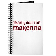 Thank God For Makenna Journal