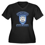 San Francisco Police Traffic Women's Plus Size V-N