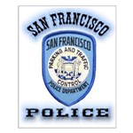 San Francisco Police Traffic Small Poster