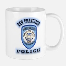 San Francisco Police Traffic Mug