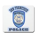San Francisco Police Traffic Mousepad