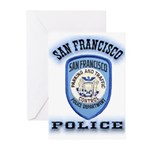 San Francisco Police Traffic Greeting Cards (Pk of