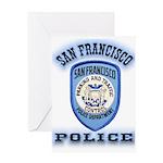 San Francisco Police Traffic Greeting Card