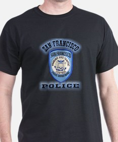 San Francisco Police Traffic T-Shirt