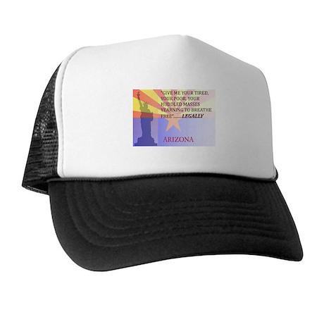 Pro Arizona with Statue Of Li Trucker Hat