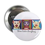 Three Laughing Cats 2.25