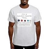 Dungeon master Mens Light T-shirts