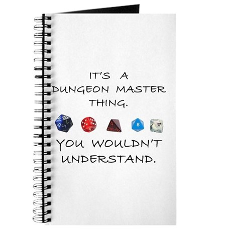 Dungeon Master Thing Journal