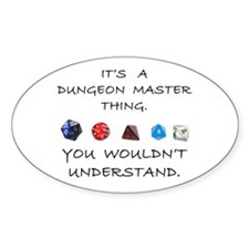 Dungeon Master Thing Decal