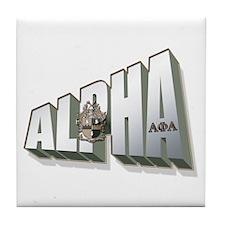 Alpha Tile Coaster
