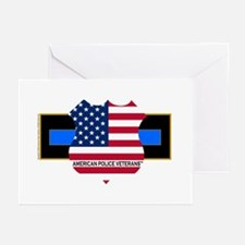 Policevets Logo 06 Greeting Cards (Pk of 10)