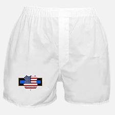 Policevets Logo 06 Boxer Shorts