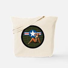Air Force Pinup Girl Tote Bag
