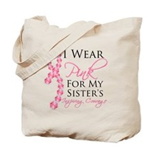 Sister - Breast Cancer Tote Bag