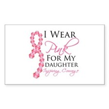 Daughter - Breast Cancer Decal