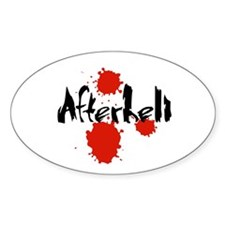 Afterhell Oval Decal