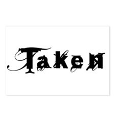 Taken Fancy Postcards (Package of 8)