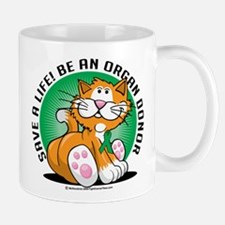 Organ Donor Cat Mug