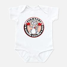 AIDS/HIV Fighter Cat Infant Bodysuit