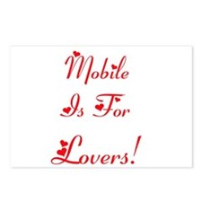 Mobile Is For Lovers! Postcards (Package of 8)
