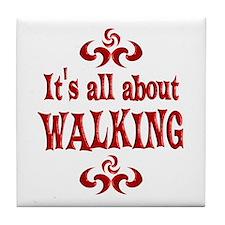 Walking Tile Coaster