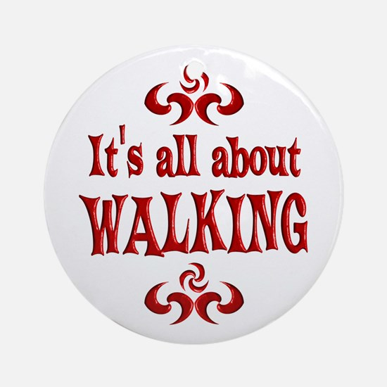 Walking Ornament (Round)