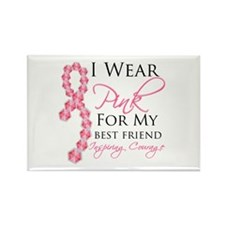 Best Friend - Breast Cancer Rectangle Magnet (10 p