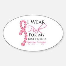 Best Friend - Breast Cancer Decal