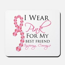Best Friend - Breast Cancer Mousepad