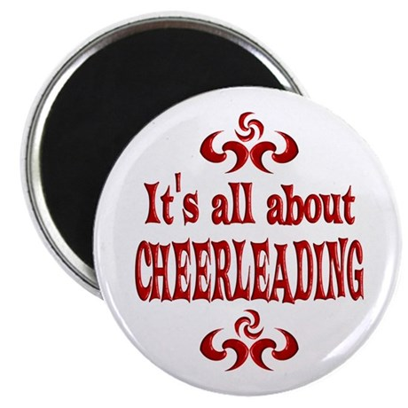"Cheerleading 2.25"" Magnet (10 pack)"