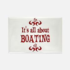 Boating Rectangle Magnet