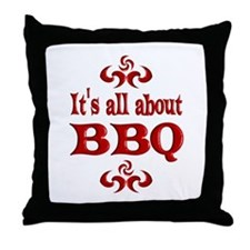 BBQ Throw Pillow