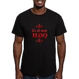 Bbq Fitted T-shirts (Dark)