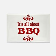 BBQ Rectangle Magnet (100 pack)