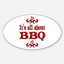 BBQ Decal